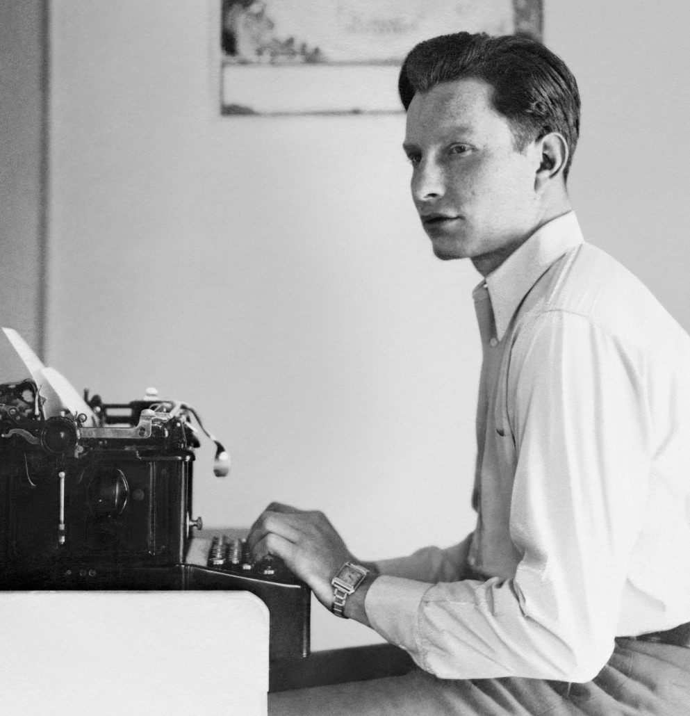 L. Ron Hubbard, New York City, circa 1935