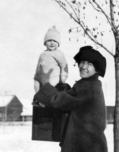 Ron with his mother, Ledora May