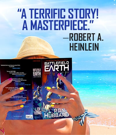 Robert Heinlein quote on Battlefield Earth