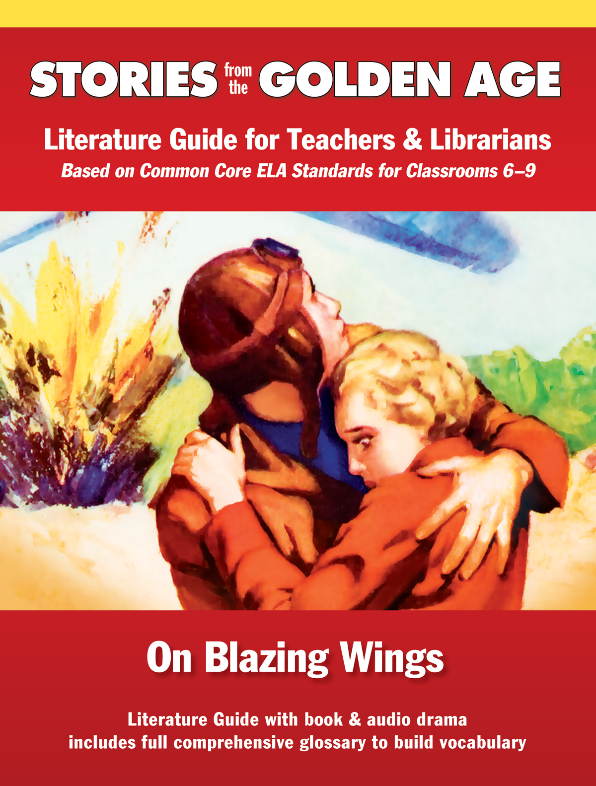 On Blazing Wings Literature Guide cover