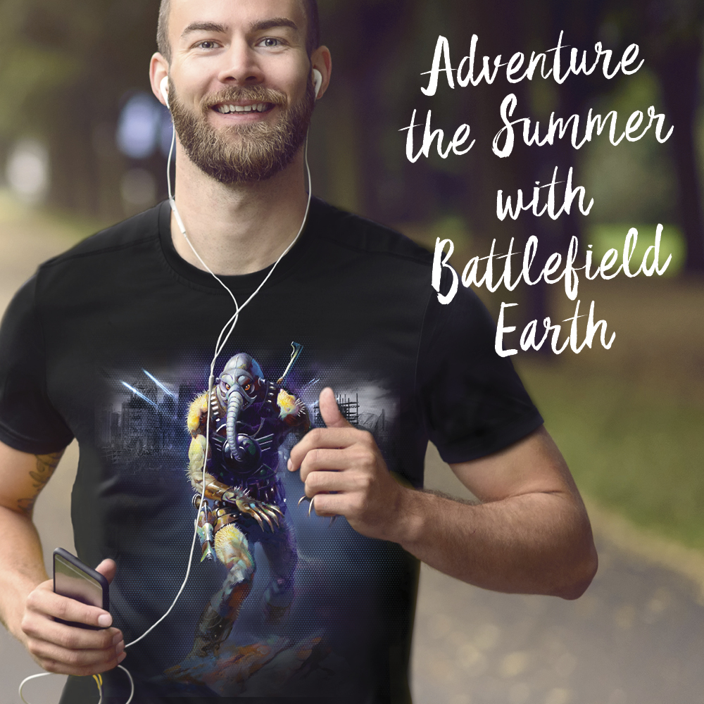Adventure the Summer with Battlefield Earth