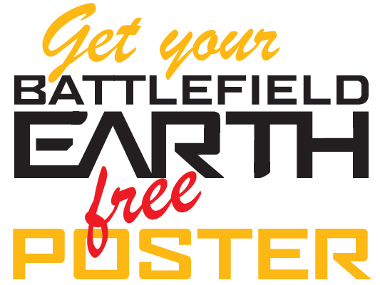 Get Your Battlefield Earth Free Poster