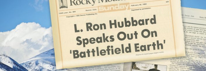 Rocky Mountain News interview with L. Ron Hubbard