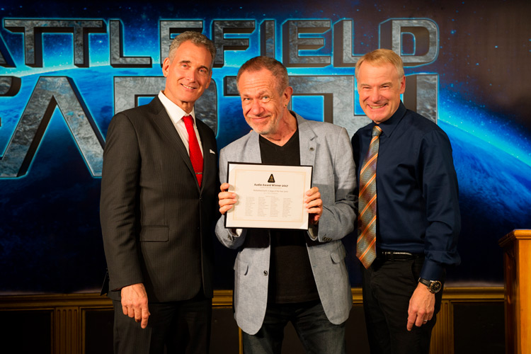 John, Stefan Rudnicki, narrator for the Intro to Battlefield Earth and Jim