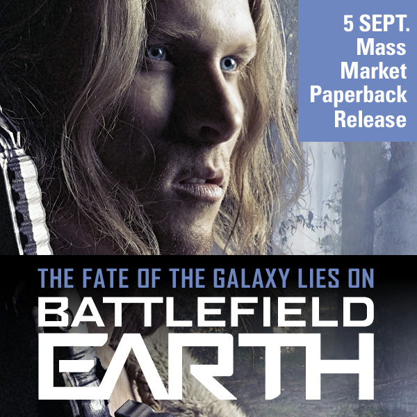 Battlefield Earth mass market paperback release - Jonnie