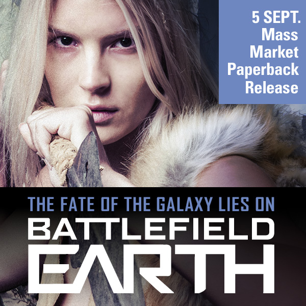 Battlefield Earth mass market paperback release - Chrissie