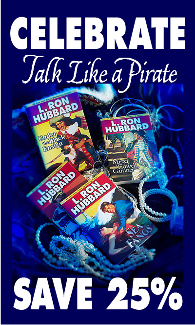 Celebrate Talk Like a Pirate Day - Save 25%