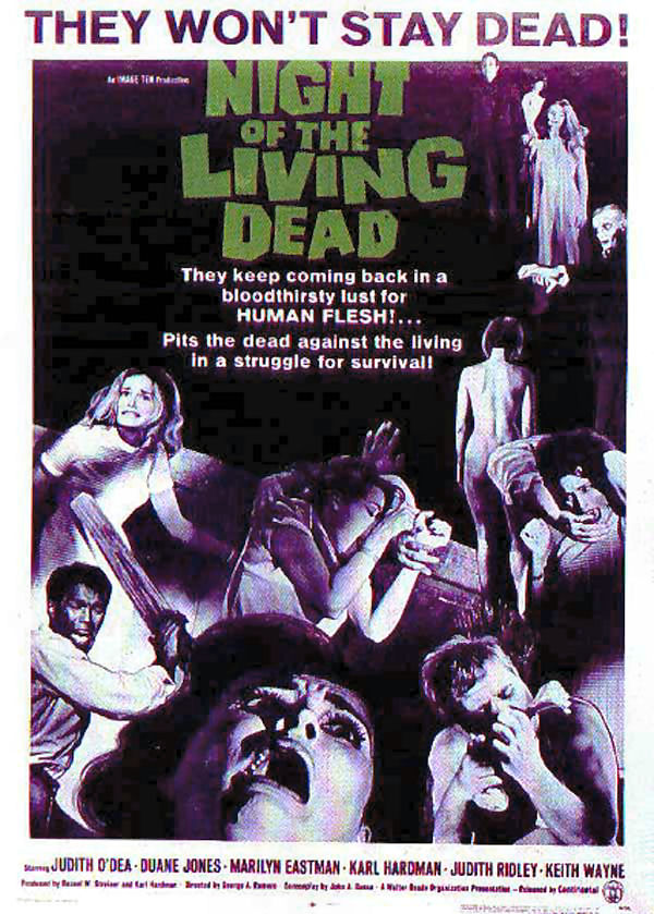 Night of the Living Dead film poster