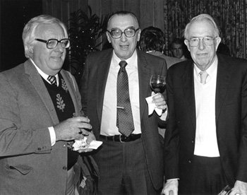 Ray Bradbury, A.E. Van Vogt and Jack Williamson