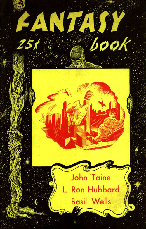 May 1949 issue of Fantasy Book Magazine