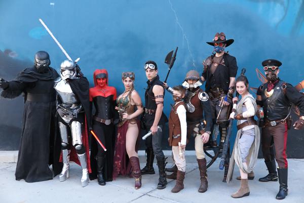 Star Wars Steam Punk outside