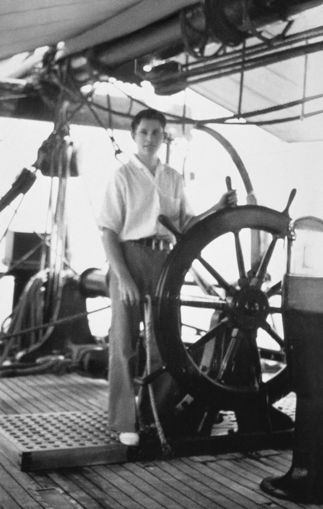 L. Ron Hubbard, China seas, 1928