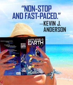 Kevin J. Anderson quote on Battlefield Earth