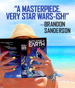 Brandon Sanderson quote on Battlefield Earth