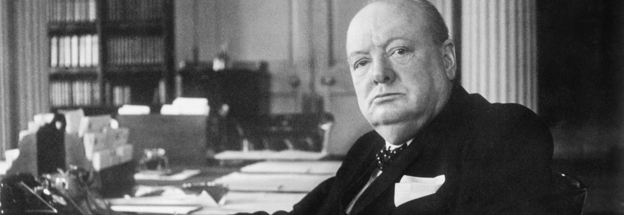 thesis on winston churchill It was winston churchill  in the 1920s and 1930s, he wrote popular-science essays on topics such as evolution and fusion power in an unpublished manuscript.