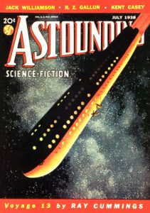 July 1938 issue of Astounding Science Fiction
