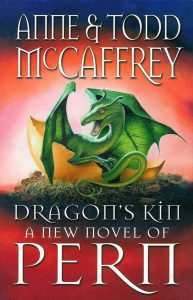 Dragon's Kin book cover, by Anne & Todd McCaffre