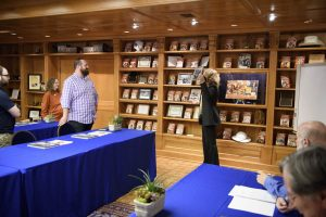 Tour of the L. Ron Hubbard library where the workshop takes place