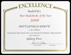 Battlefield Earth audiobook Best of 2016 Award