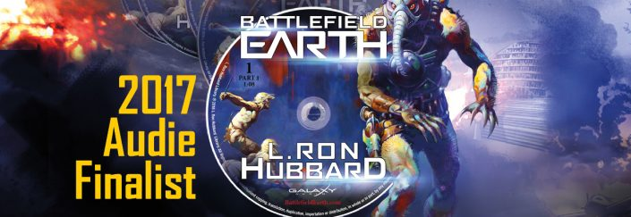 Battlefield Earth audiobook 2017 Audie Finalist