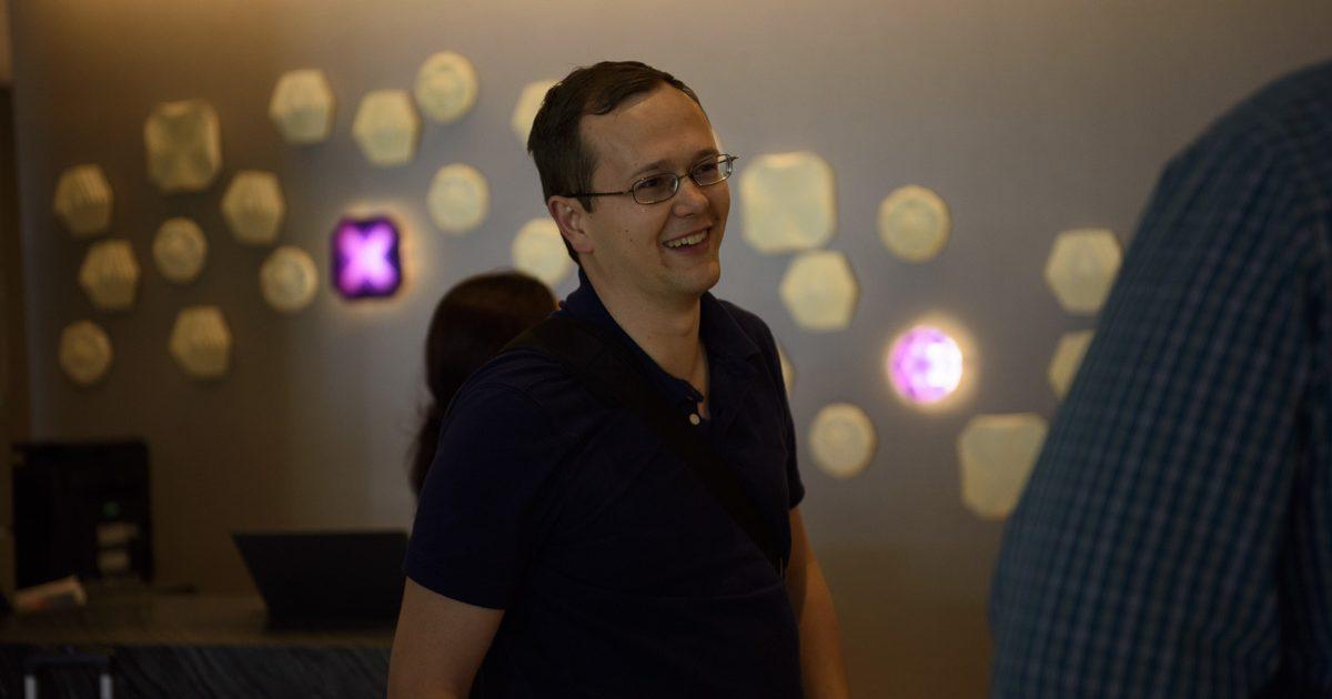 Writer winner Dustin Steinacker