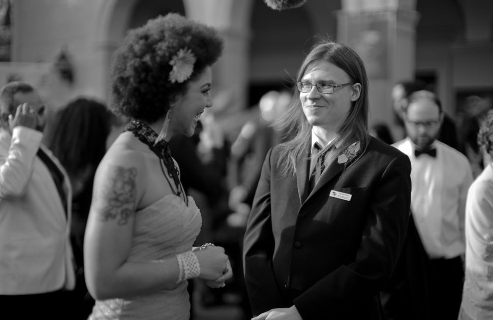 Joy Villa and Ville Meriläinen on the red carpet. Photo by Thorsten Overgaard.