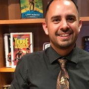 Diego Martinez at the L. Ron Hubbard Library in Hollywood