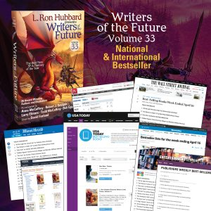 Writers of the Future Volume 33 National International Bestseller