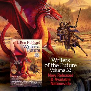 Writers of the Future Volume 33 now available nationwide