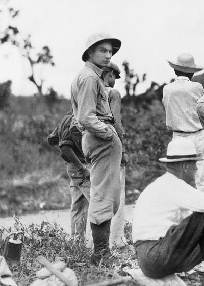 L. Ron Hubbard, Puerto Rico, 1932