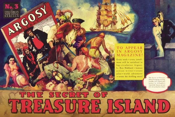 The Secret of Treasure Island movie poster