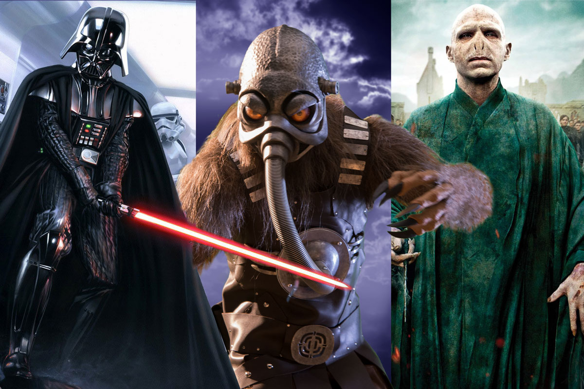 Darth Vader, Terl and Lord Voldermort