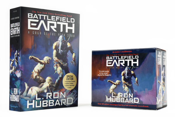 Battlefield Earth Book & Audio
