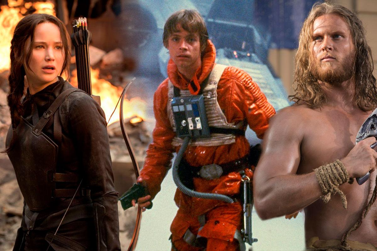Katniss, Luke and Jonnie Goodboy Tyler