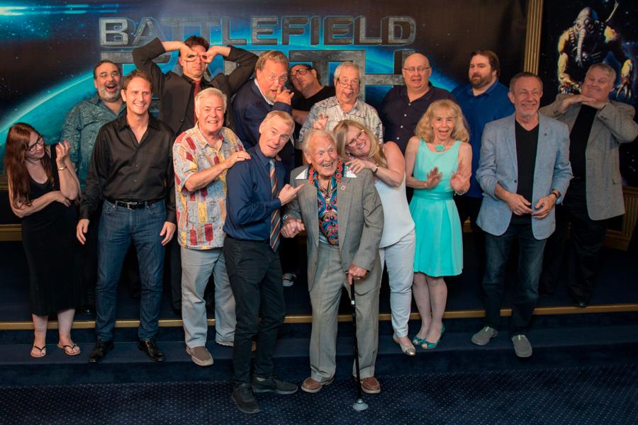 Audiobook cast and actors