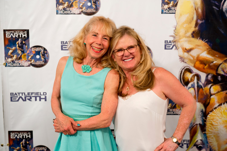 Noelle North and Nancy Cartwright