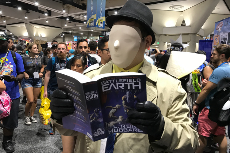 Fan with Battlefield Earth
