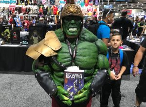 The Hulk with Battlefield Earth