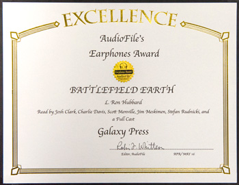 Battlefield Earth audiobook Earphone Award