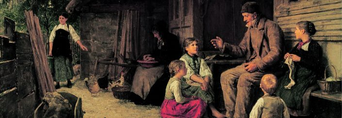 Anker Grossvater painting