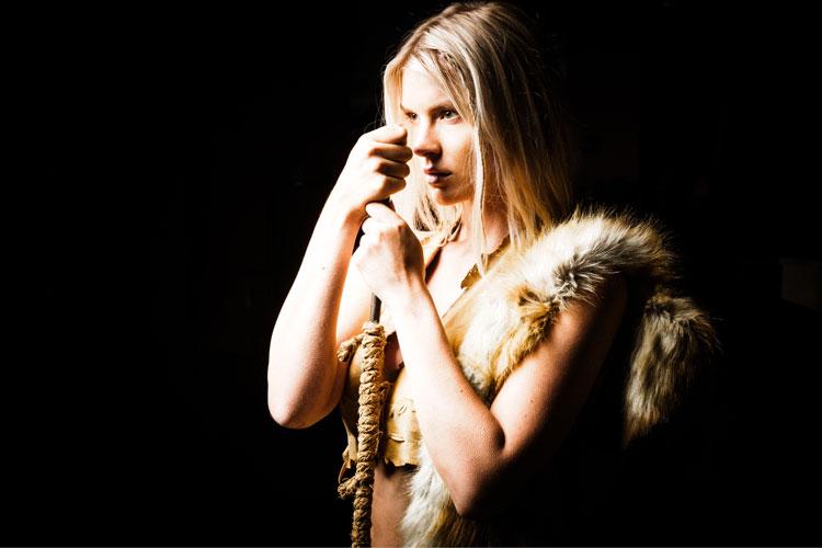 Pia Lamberg as Chrissie, photo by Dennys Ilic