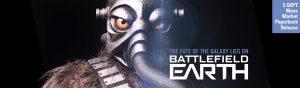Battlefield Earth mass market paperback release - Terl