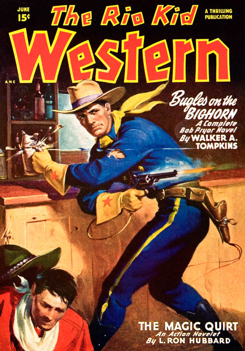 The Magic Quirt in the Rio Kid Western Magazine