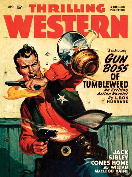 Gun Boss of Tumbleweed in Thrilling Western Magazine