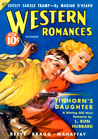 Tinhorn's Daughter in Western Romances