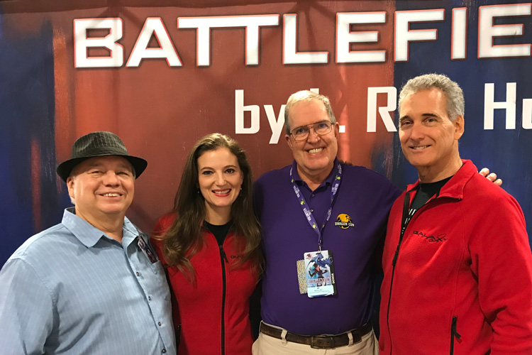 Bill Fawcett, Emily, Pat Henry and John