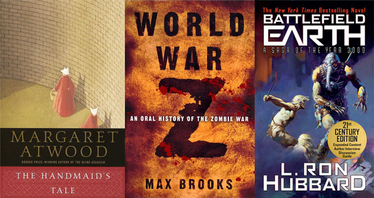 The Handmaid's Tale, World War Z and Battlefield Earth