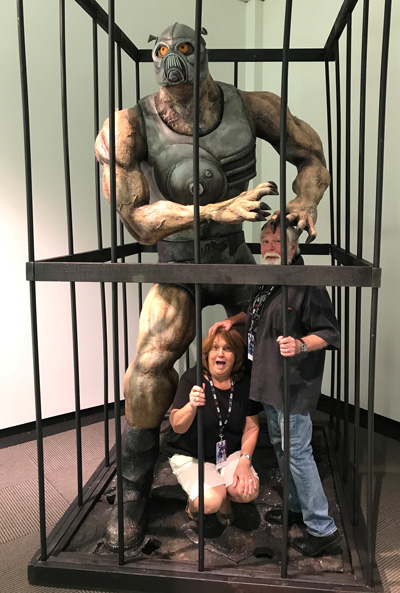 Larry and Betty Elmore get trapped by Terl!