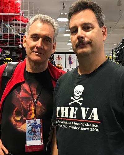 John Goodwin with Michael Williamson