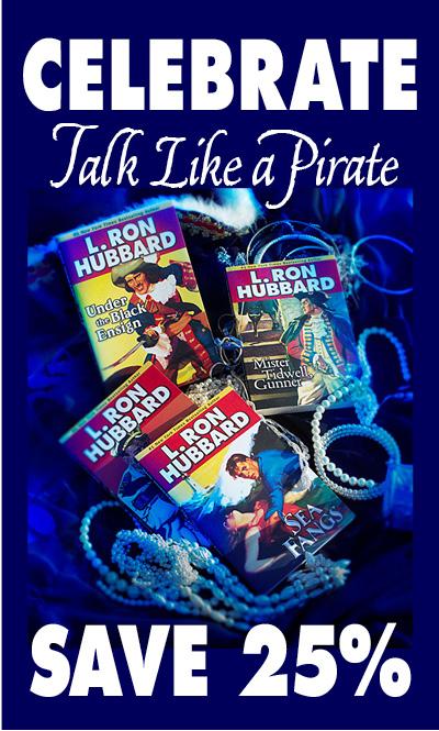 Celebrate Talk Like a Pirate Day - Save 25%